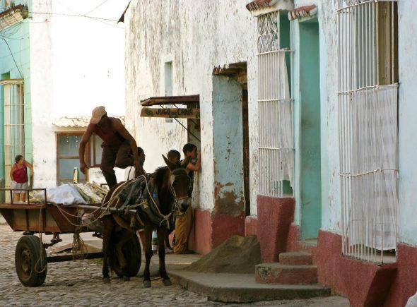 Despacho de jugo de caña. Foto: Ana Esteban.