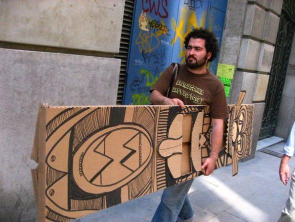 El artista Juan Pablo Baene.