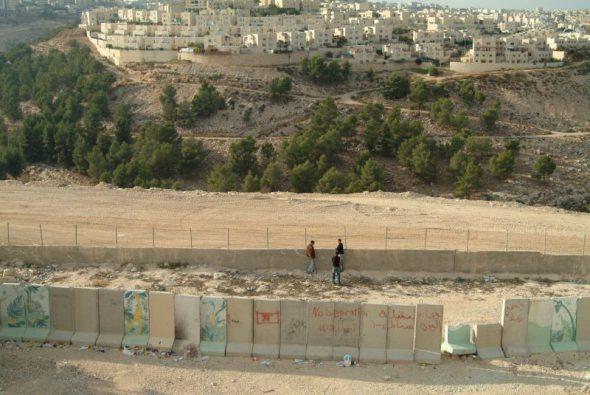 Muro de separación entre Israel y Palestina. Foto: Dafna Kaplan.