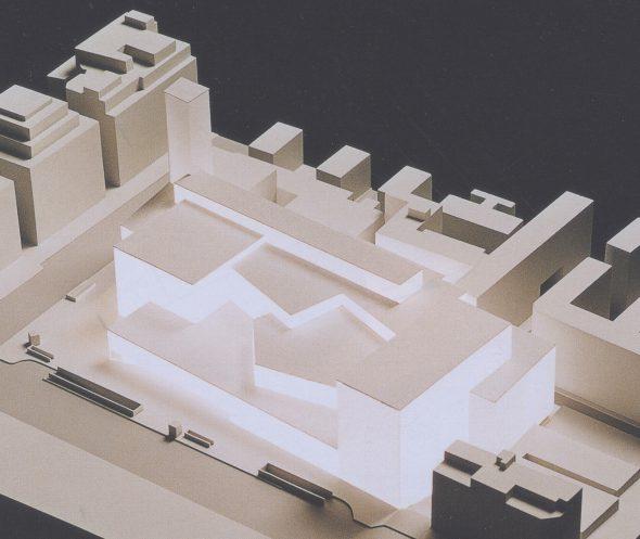 Teatros del Canal. Proyecto realizado por José Antonio y Marcos Corrales. (2000)