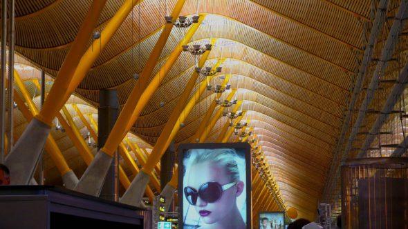 Terminal T1 del Aeropuerto Internacional Adolfo Suarez de Madrid. Foto: J.Barandica/