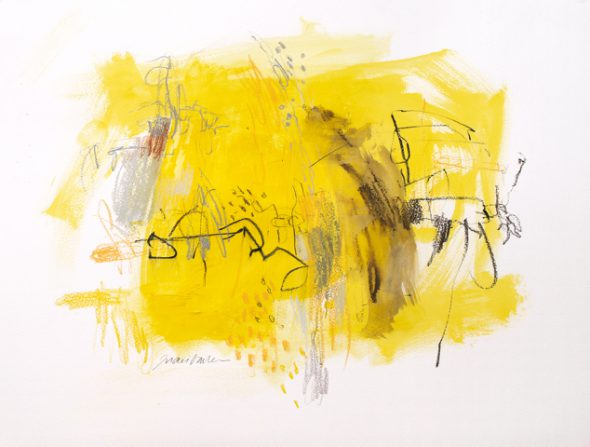 Una de las obras de Juan Varela.