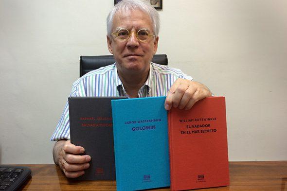 El editor Pere Sureda.