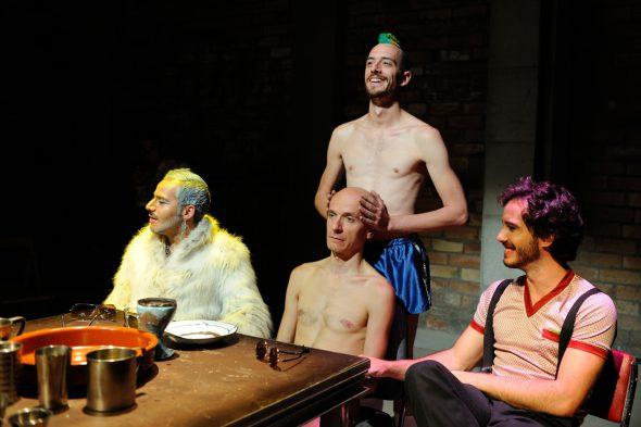 El espectáculo 'El rey Baltasar'. Foto: Roberto Villalón.