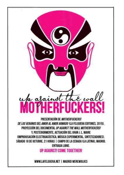 Cartel de presentación de Motherfuckers.