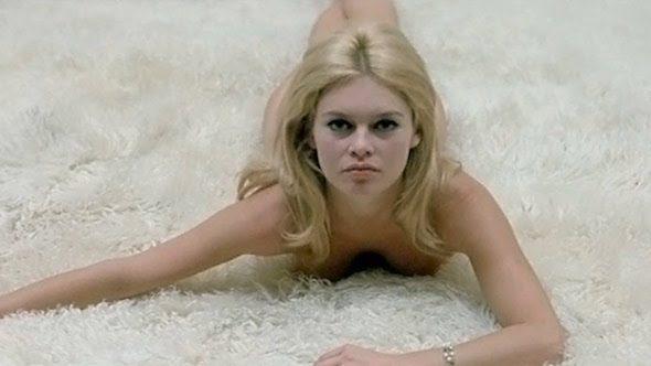 La actriz Brigitte Bardot en una secuencia de 'El desprecio'.