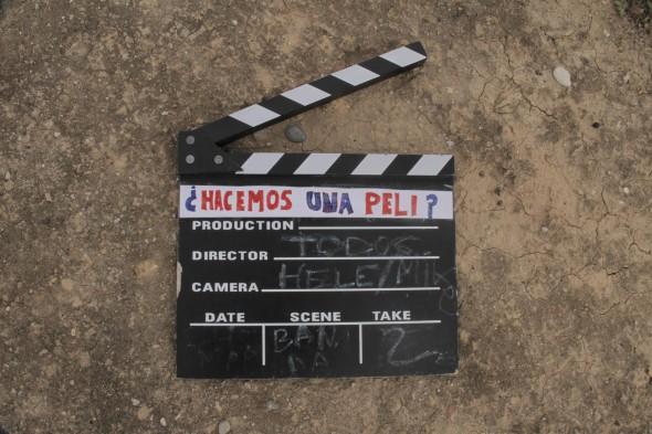 Claqueta del colectivo 'Cine Sin Autor'.