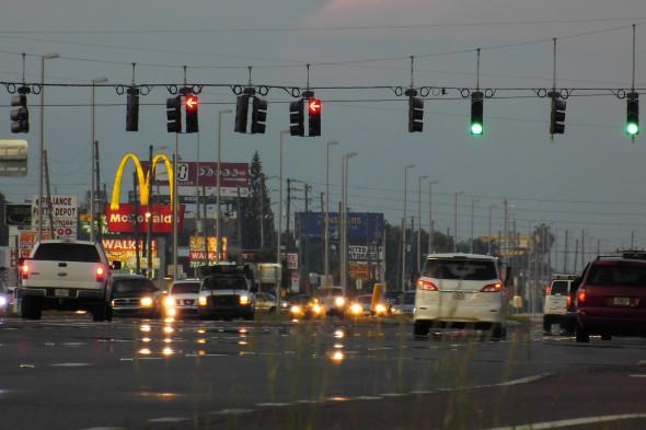 Una zona comercial en Florida, Estados Unidos. Foto: Daniel Oines / Flickr Creative Commons.