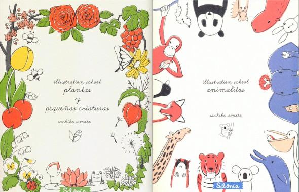 Portadas de los libros de Sachiko Umoto.