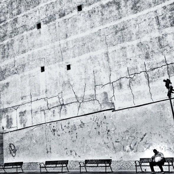 Una de las plazas del centro de Madrid. Foto: Manuel Cuéllar.