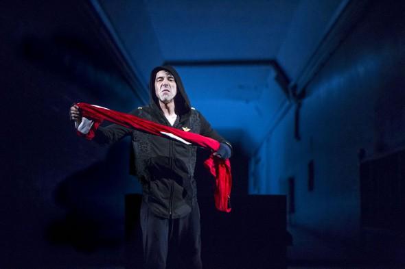 'Hamlet' en versión de la compañía Kamikaze teatro. Foto: Ceferino López.