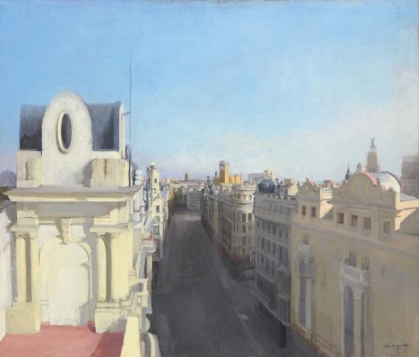 María Moreno. Gran Vía II. Colección Privada.