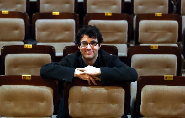 """Fernando Velázquez, compositor de la banda sonora de la película """"Lo imposible"""". Foto Ernesto Agudo."""