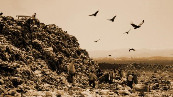 Un fotograma de 'Wasteland'.