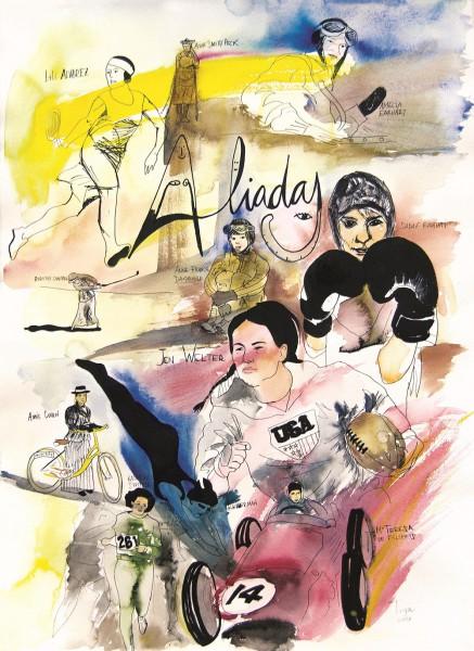 Obra de Lidia Toga.