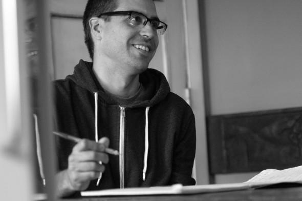 El escritor Ander Izagirre.