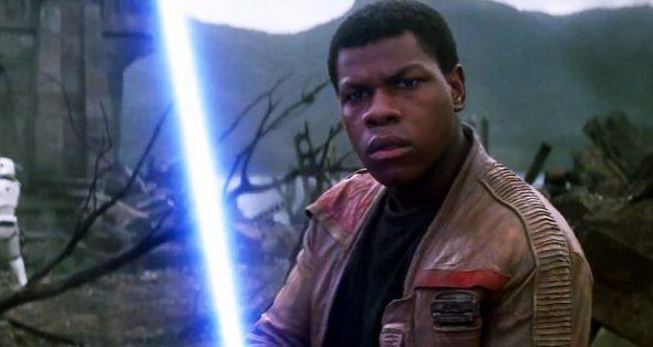 El actor John Boyega, uno de los protagonistas de la última entrega de la saga de La Guerra de Las Galaxias.