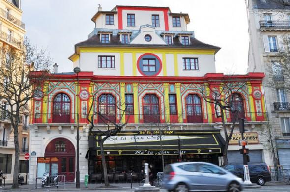 Le Bataclan en París.
