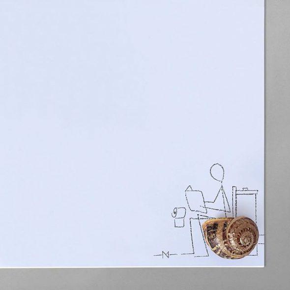Monigote y los caracoles.