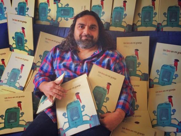 El narrador Pep Bruno.