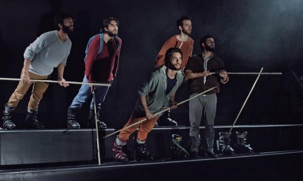 'La Odisea' de La Joven Compañía. Foto: Javier Naval