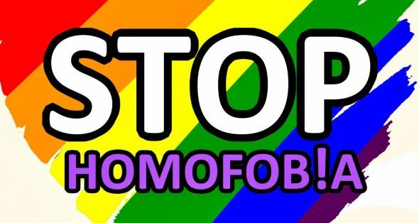 Stop Homofobia.