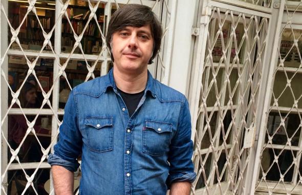 El escritor Andrés Barba.