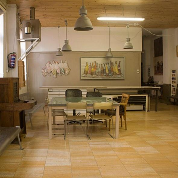 La lavandería. Un espacio de creación en Lavapiés.