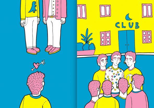 Ilustraciones del libro 'Los novios de Gael' de Sanz i Vila.