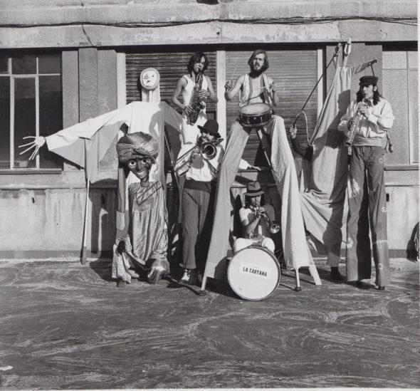 La compañía La Tartana en 1979.