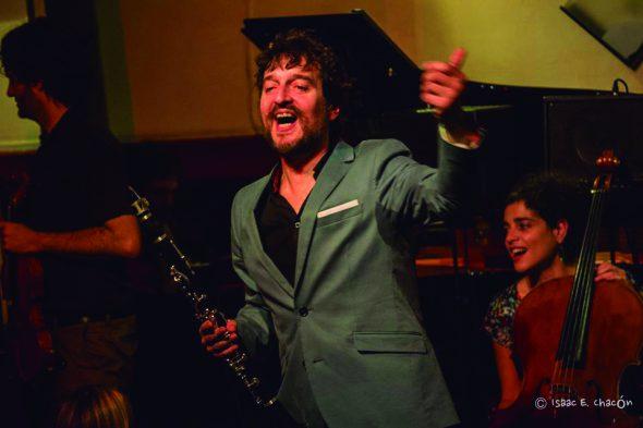 El músico Nacho Mastretta.