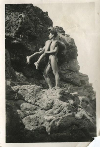 Anónimo de fotógrafo alemán de los años 50 en Tenerife.