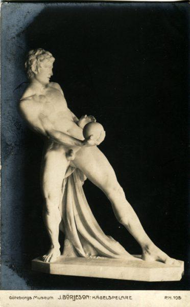 Postal del salón de París de 1910.