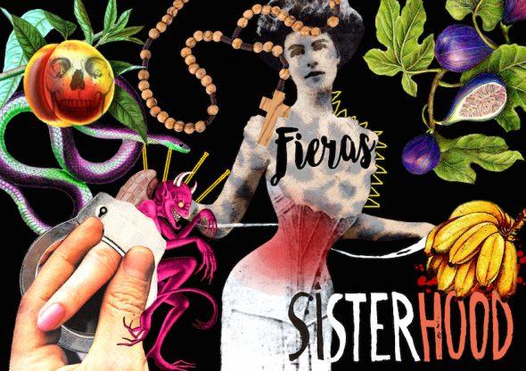 Portada de 'Fieras' de 'Sisterhood' con ilustración de María Bastaros.