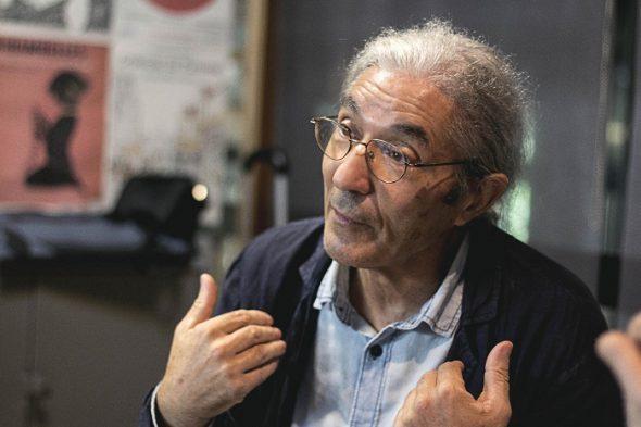 El escritor Boualem Sansal. Fotografía de Sara Baquero Leyva.