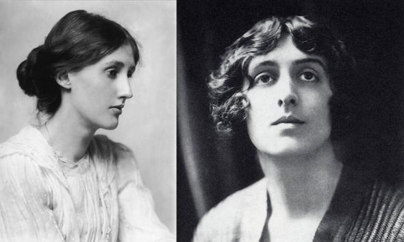 Virginia Woolf, a la izquierda, y Vita