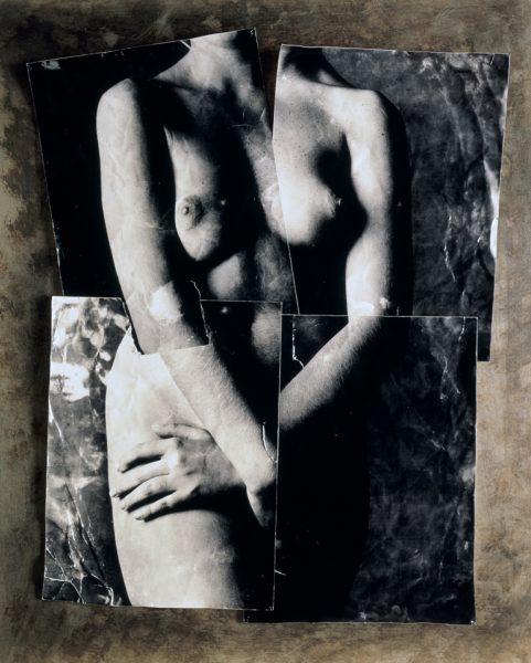 Obra de la serie Cascografías de Alberto Schommer.