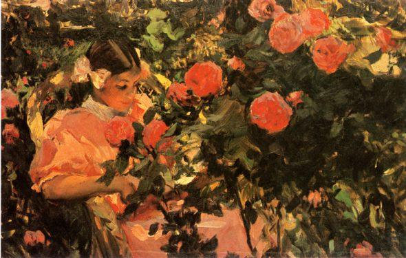 j-sorolla-elena-entre-rosas-1907-la-habana-museo-nacional-de-bellas-artes