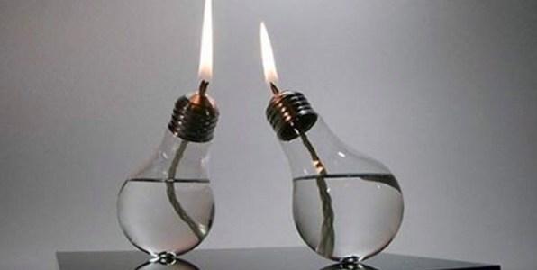 Segunda vida para las bombillas en la cuenta Reciclaje Creativo.