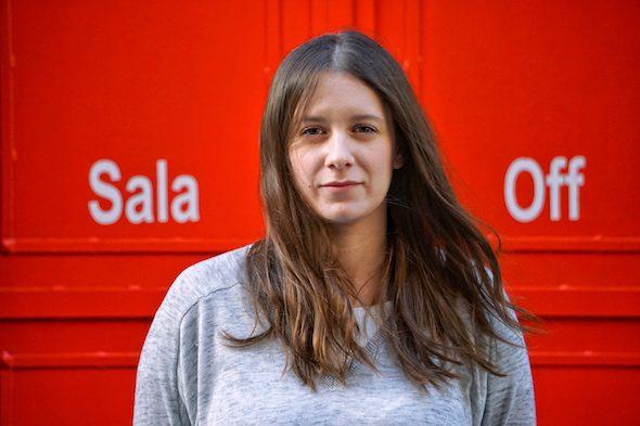 Carolina de Juan. Alias Nina, líder, cantante y compositora de la banda madrileña Morgan. Foto: Manuel Cuéllar.