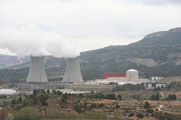 La central nuclear de Cofrentes en Valencia.