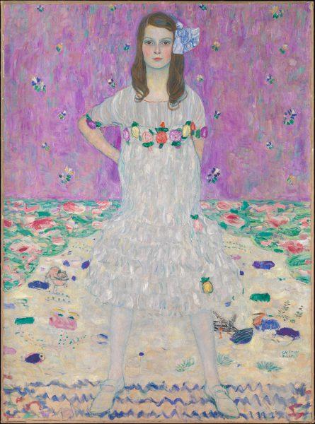 Mäda Primavesi. Gustav Klimt, 1912–13.