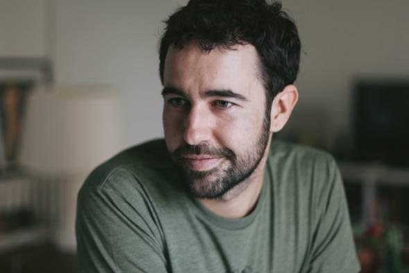El escritor Manuel Guedán.