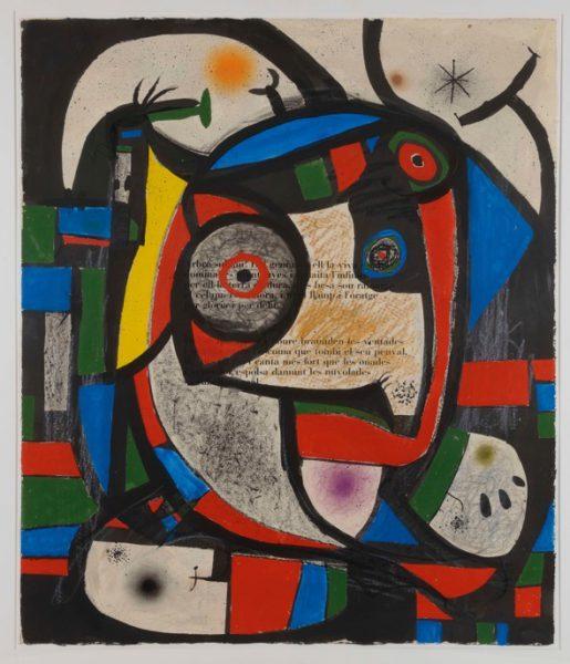 Composition, Joan Miró E-045, 1976 © Cuauhtli Gutiérrez - Cortesía Galería Elvira González