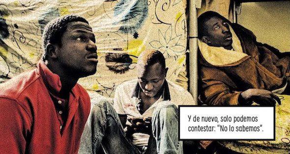 Una página del comic La grieta de Carlos Spottorno y Guillermo Abril.