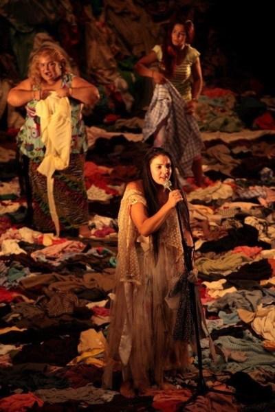 Un momento de la representación de 'Fuenteovejuna'. Foto: Teatro Español.