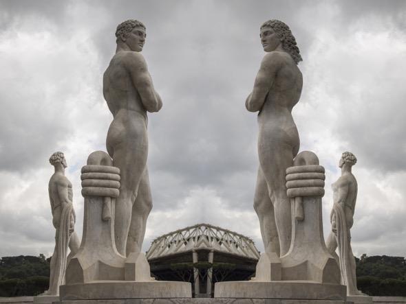 Obra de Susana Arenilla de la serie L'uomo. De la exposición 'Hecho en Roma'.