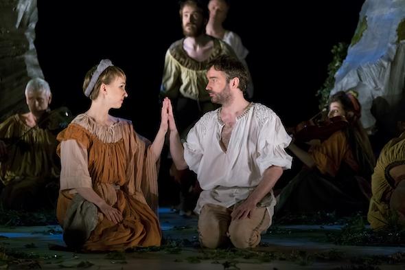 Orfeo de Monteverdi en los Teatros del Canal. Foto: Philippe Delval.