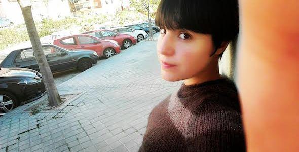 La escritora Almudena Sánchez.