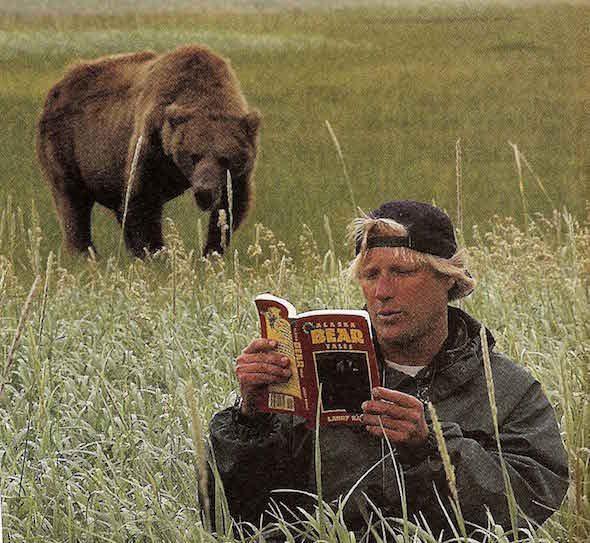 Fotograma de Grizzly man de Werner Herzog.